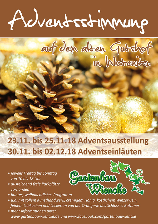 Adventsstimmung in Wotenitz