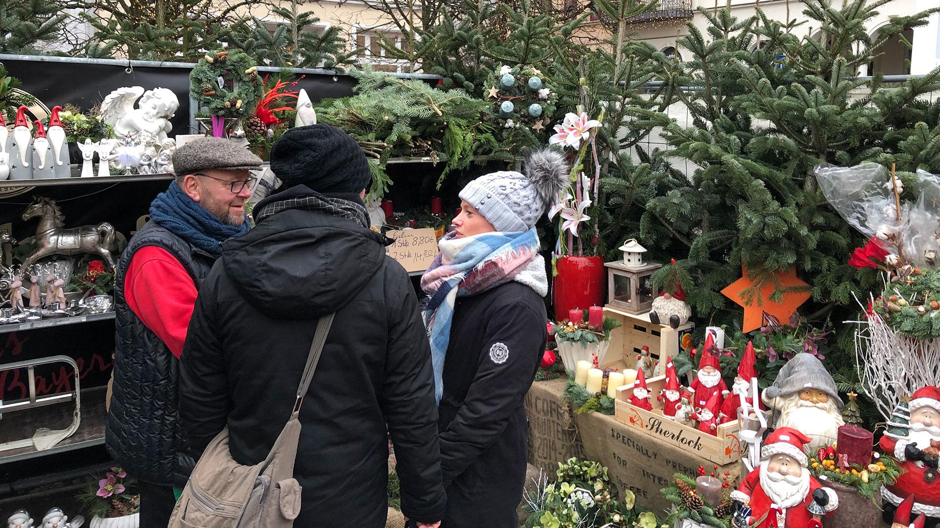Weihnachtsmarkt Schwerin