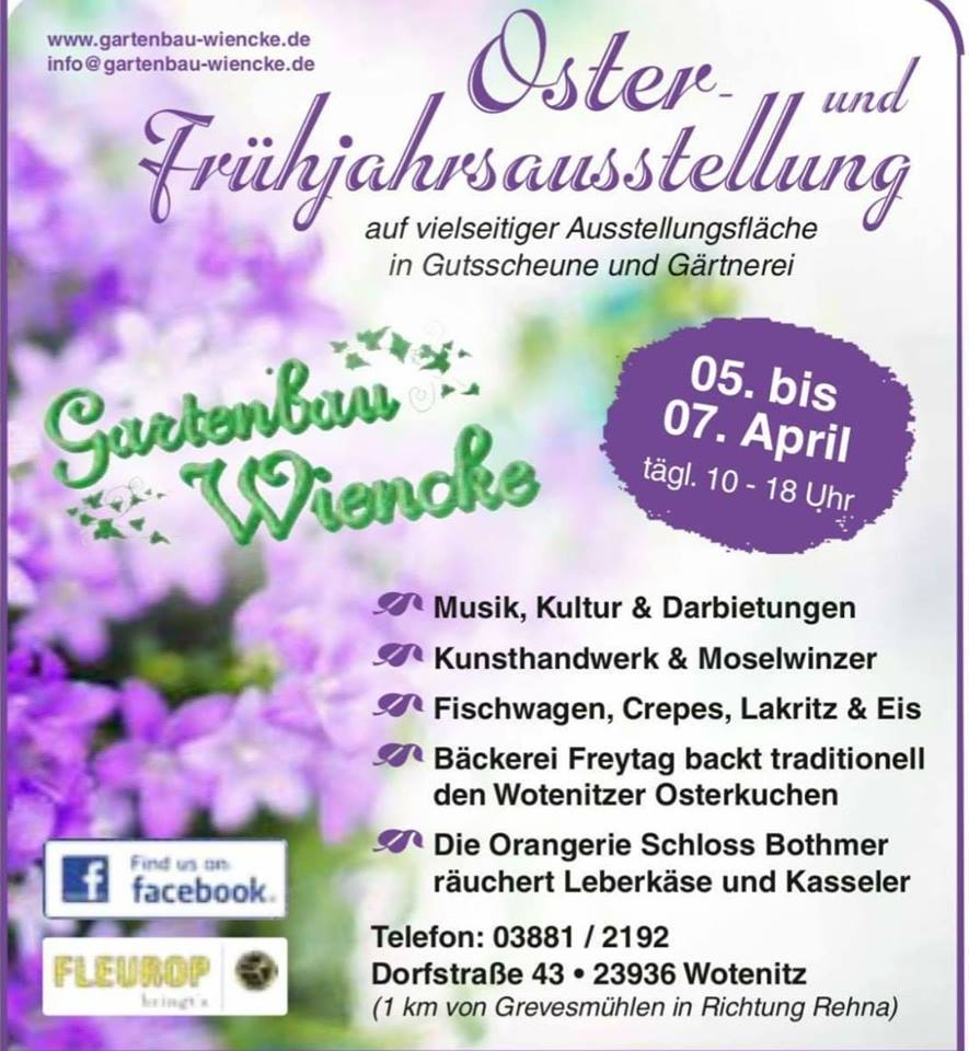 Osterausstellung am 05.-07. April!